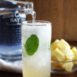 Rum's Revenge Pineapple Coconut Mojito