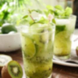 Rum's Revenge Kiwi-Lime Mojito
