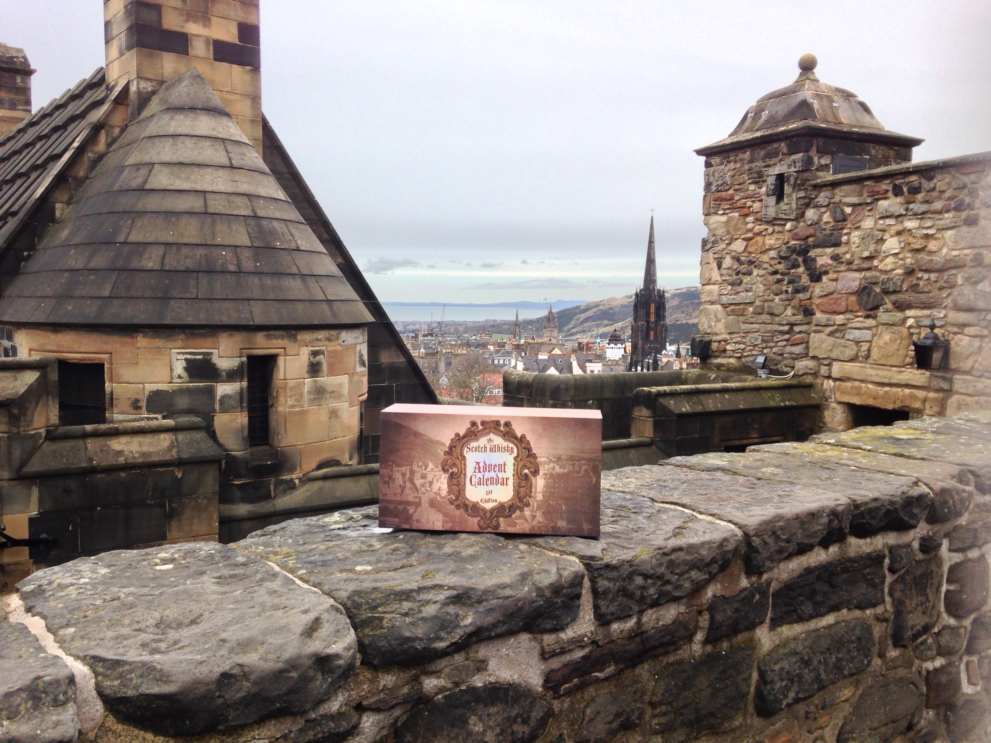 The Scotch Whisky Advent Calendar at Edinburgh Castle, Scotland