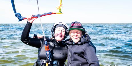 Mélanie et Anouk