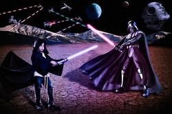 Star Wars Fight Scene