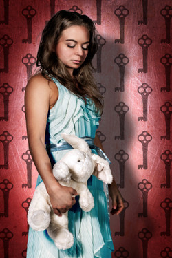 Alice With Bunny