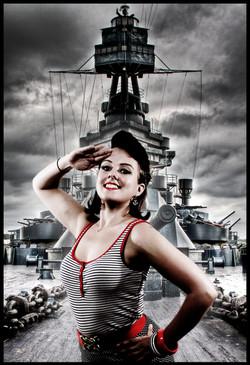 Battleship Pin Up