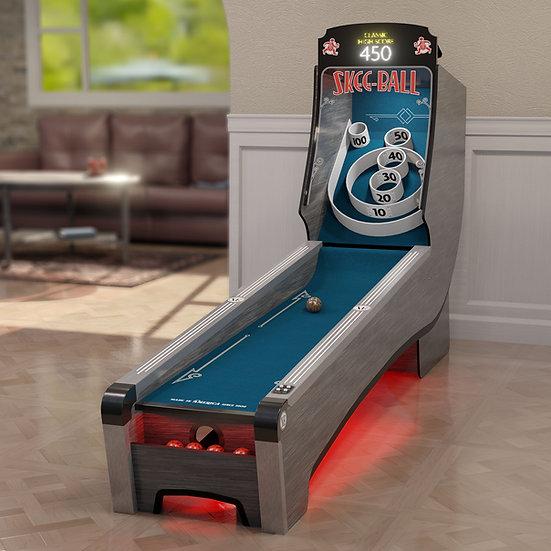 Skee-Ball® Home Arcade Premium with Indigo Ramp