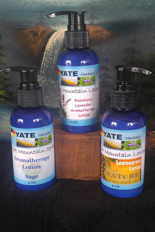 Aromatherapy Herbal Lotions