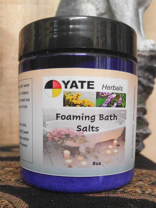 White Tea and Ginger Foaming Bath  Salts