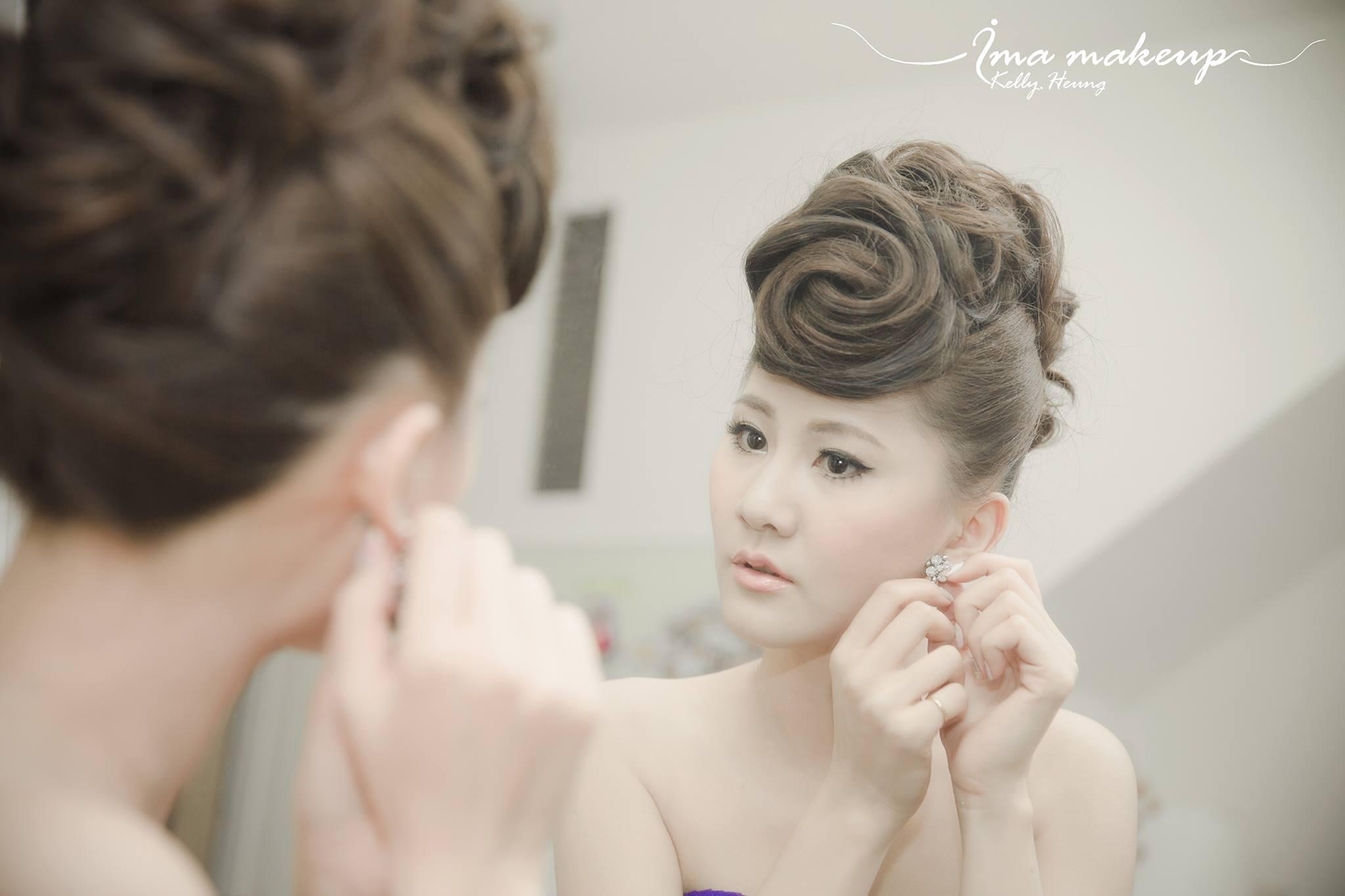 Ima makeup 新娘化妝造型