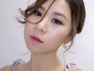 簡單打造混血兒般的夏日清透性感粉紅眼妝♥彩妝教學