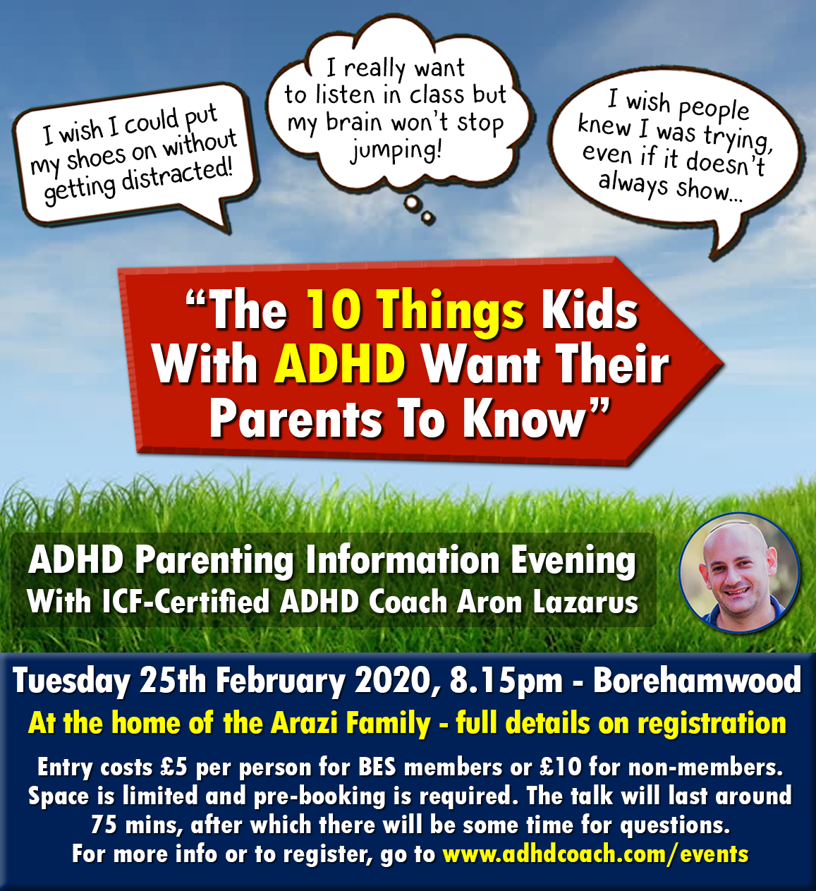 ADHD Parenting Talk - BES - 25.02.20