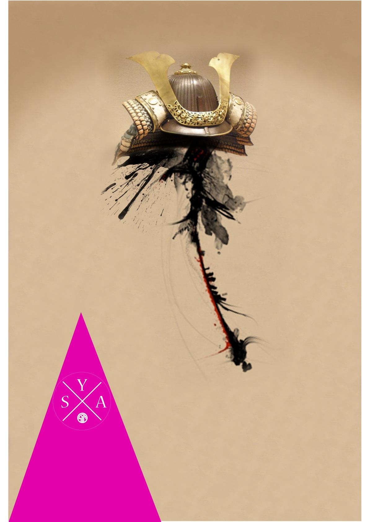 Oberon -numerique 2014 sya casque samourai.jpg