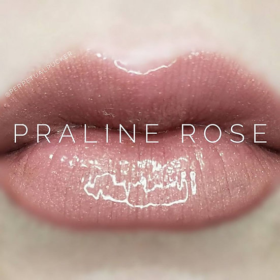 Praline Rose LipSense® with Glossy Gloss
