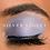 Silver Violet ShadowSense® on dark skin