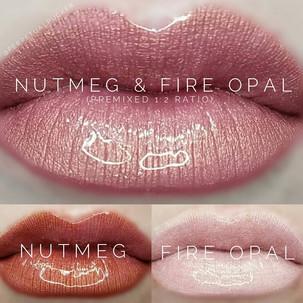 Nutmeg & Fire Opal LipSense® Combo