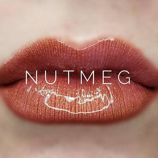 Nutmeg LipSense® with Glossy Gloss