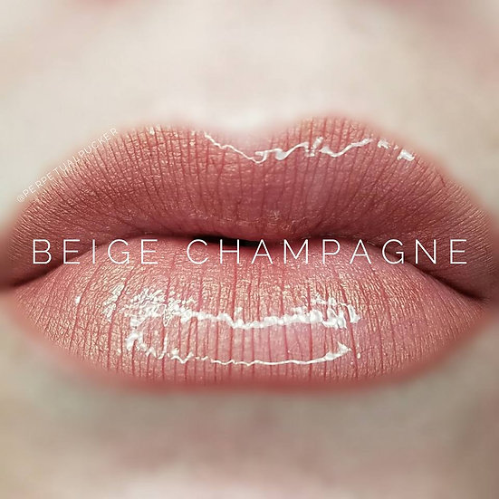 Beige Champagne LipSense® with Glossy Glossy