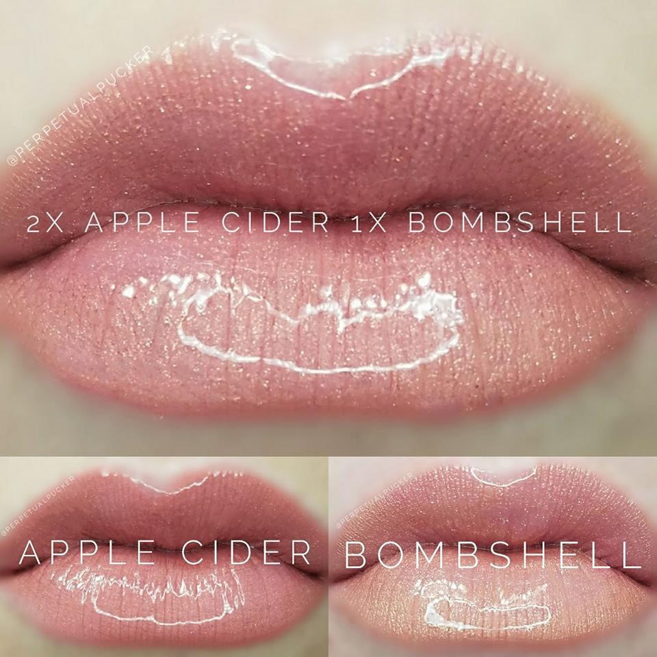 Apple Cider & Bombshell LipSense® Combo