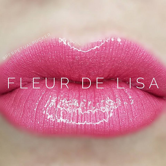 Fleur de Lisa LipSense® with Glossy Gloss