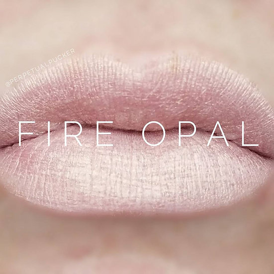 Fire Opal LipSense® with Matte Gloss