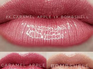 Caramel Apple & Bombshell LipSense® Combo