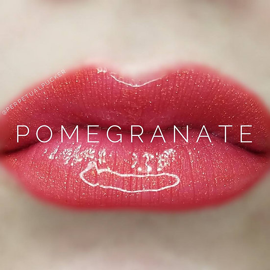 Pomegranate LipSense® with Glossy Gloss