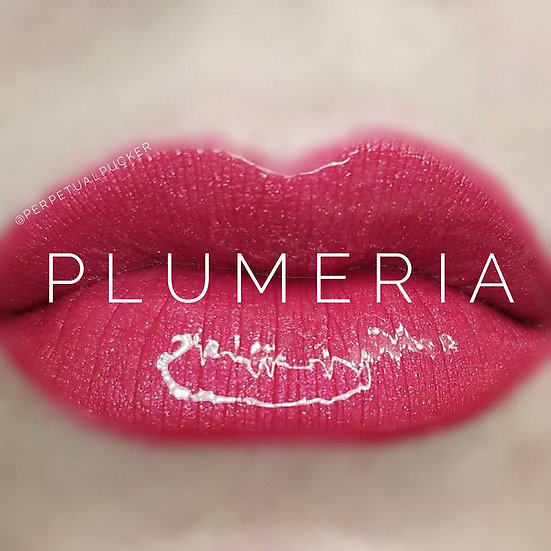 Plumeria LipSense® with Glossy Gloss