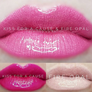 Kiss for a Cause & Fire Opal LipSense® Combo