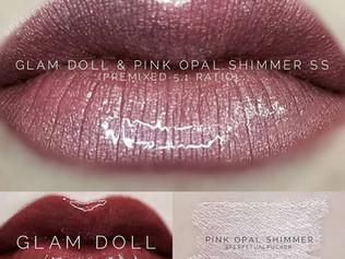 Glam Doll LipSense®  & Pink Opal Shimmer ShadowSense® Combo
