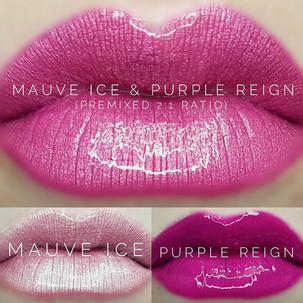 Mauve Ice & Purple Reign LipSense® Combo