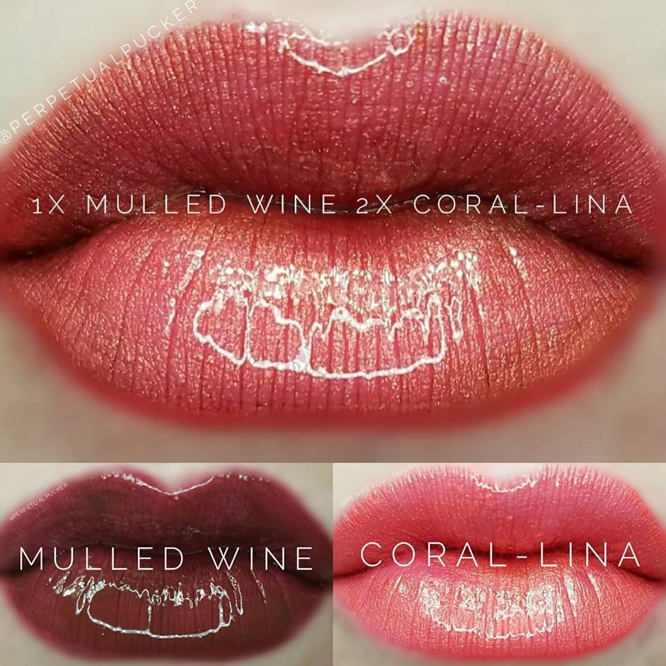 Mulled Wine & Coral-Lina LipSense® Combo
