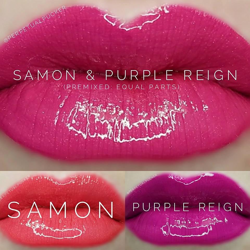 Samon & Purple Reign LipSense® Combo