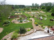 jardin aménagé   apprendre à jardiner   region centre val de loire