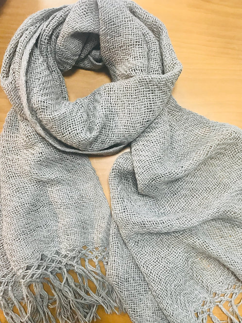 Sciarpa tessuta a telaio
