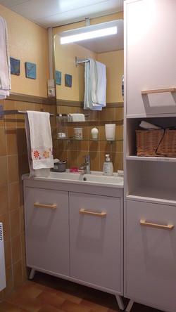 gîte-lafond-salle d'eau-rdc