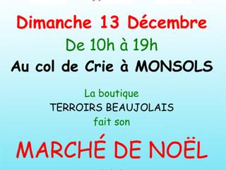 COL DE CRIE DIMANCHE 13 Décembre 2015