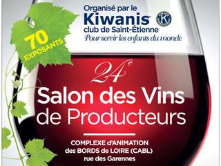 Salon des vins de producteurs organisé par les Kiwanis - 24 et 25 Février 2017