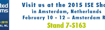 Visit us at the 2015 ISE Show