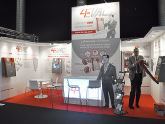 4evac Booth at ISE  - Amsterdam
