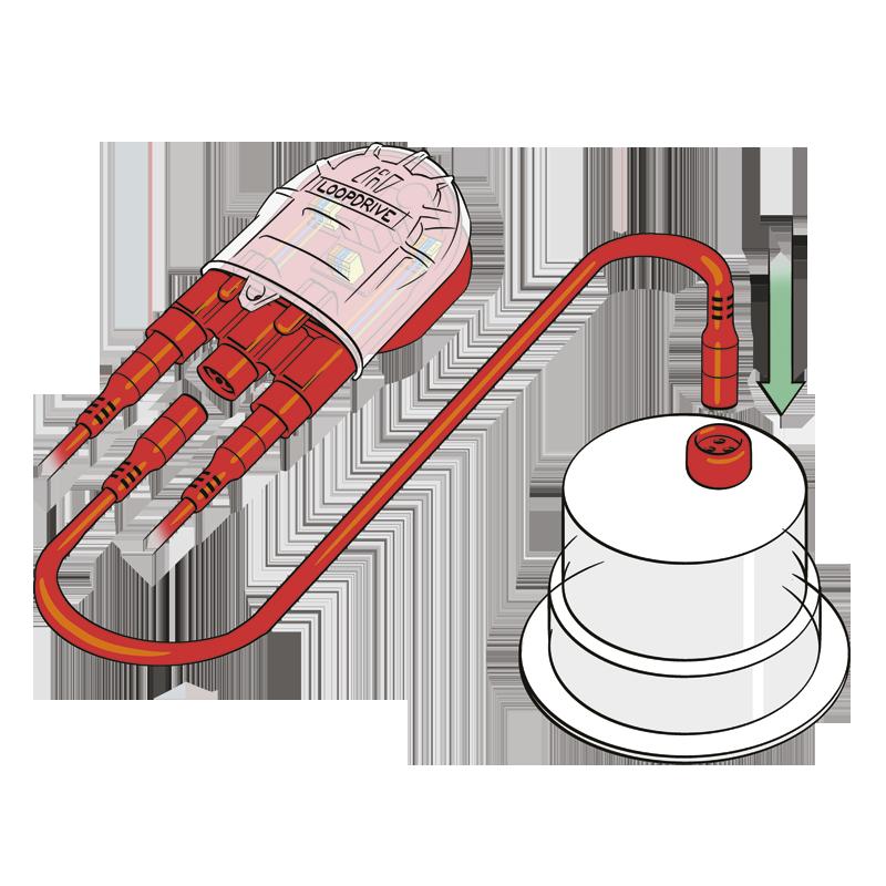 4Evac-Loopdrive-Plug-Play-connector