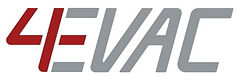 4evac,voice evacuation systems, logo