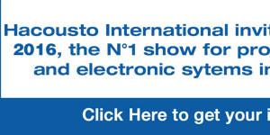Hacousto International invites you to ISE 2016