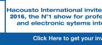 Hacousto International invites you to ISE 2016