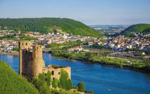 Départ de Chauffailles pour une croisière sur le Rhin.