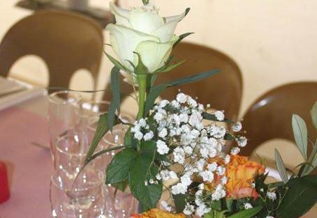 Un mariage à Chauffailles, la fête au camping et les mariés bien au calme dans l'appartement du