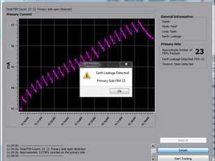 EARTH LEAKAGE FAULT-FINDING FEATURE ADDED TO LOOPDRIVE