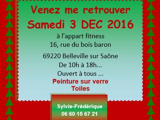 Noël Approche à Belleville-sur-Saône - 3 Décembre de 10 h à 18h.