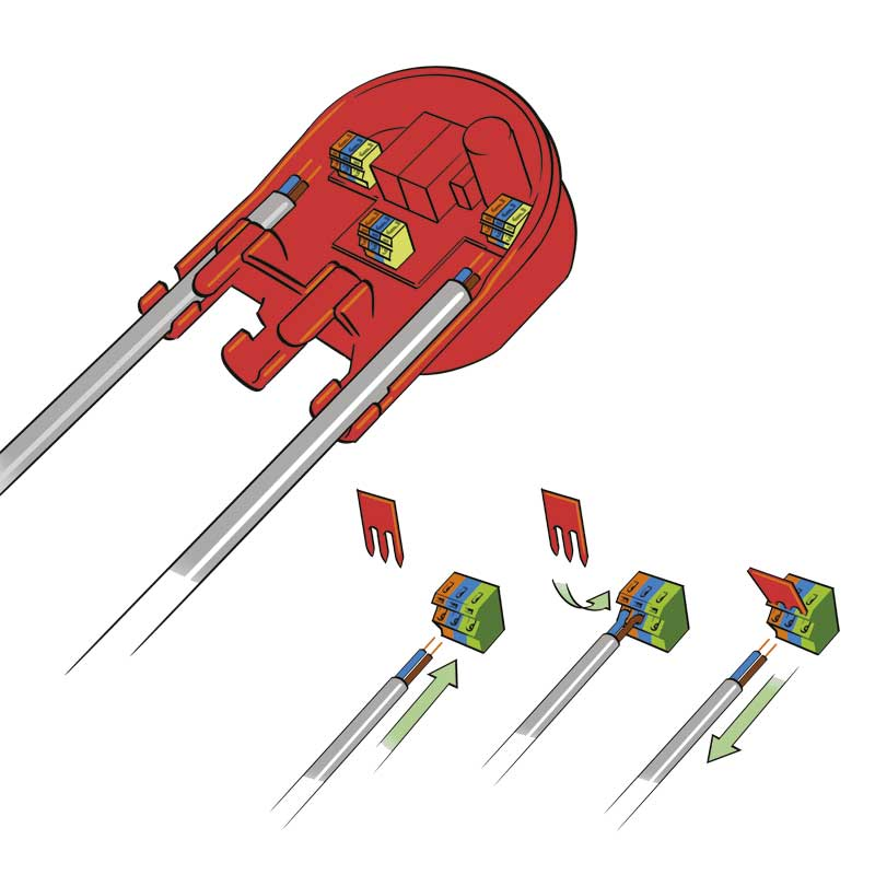 4Evac-Loopdrive-assembly-Wire-fix
