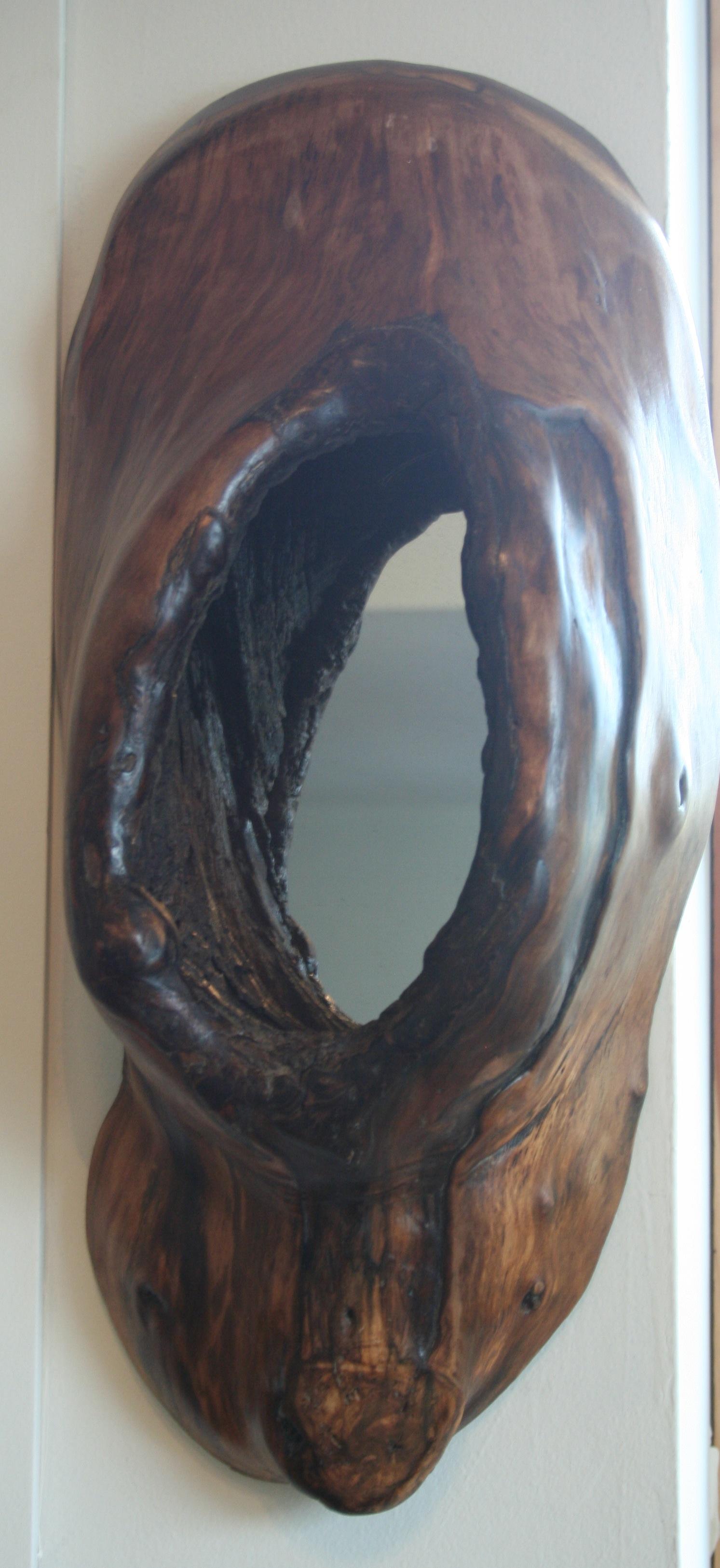 Knothole mirror