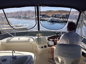 Captain on Meridan 391 in Page Arizona