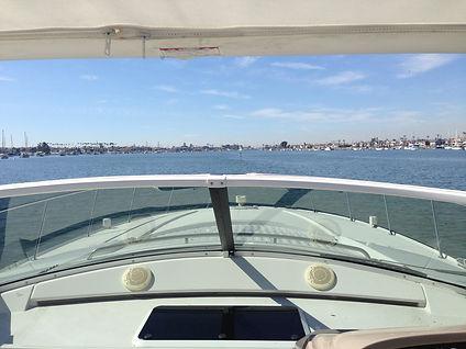 Sea Trial of Trojan 440 in Newport Beach California