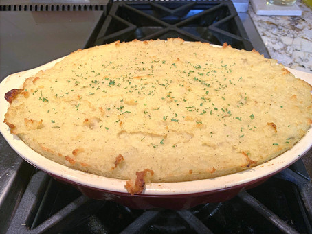 Vegan Guinness Shepherd's Pie
